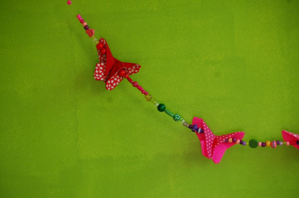 papillons en tissu