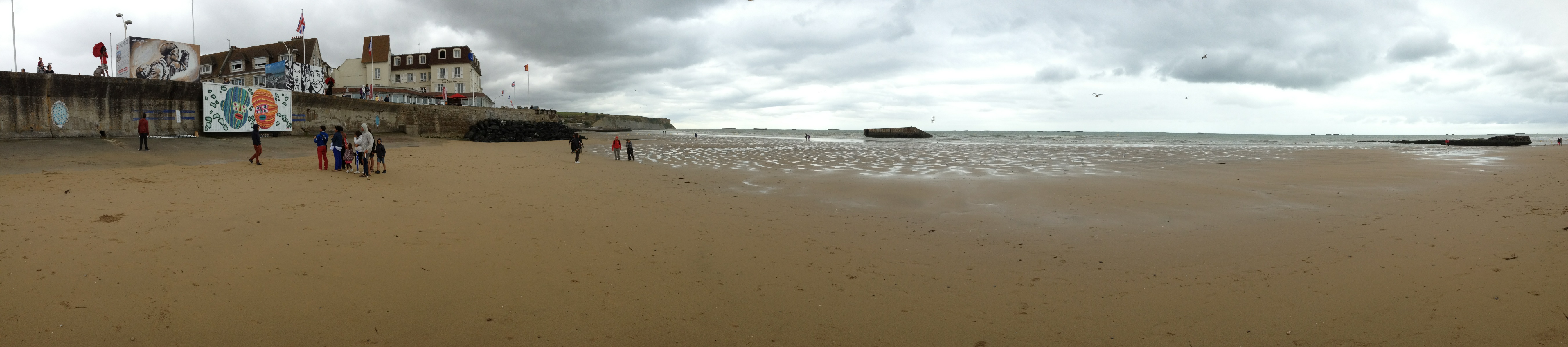 photo arromanches
