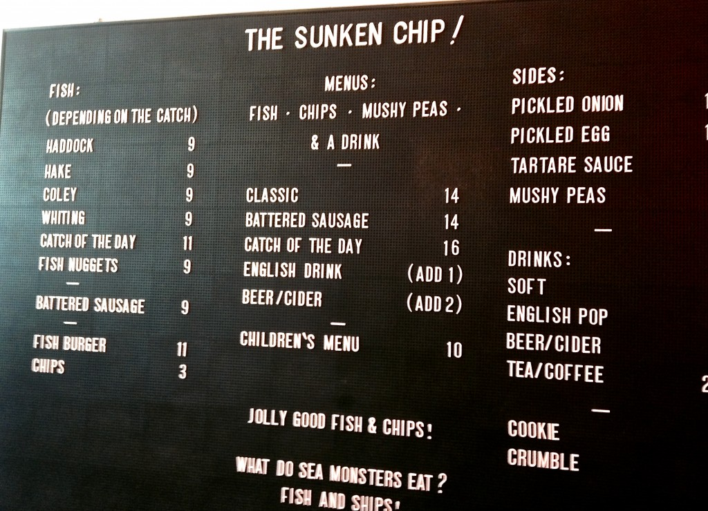 the sunken chip