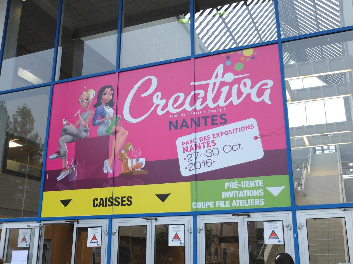 Le salon creativa nantes 2016 j 39 y tais cette ann e for Salon nantes