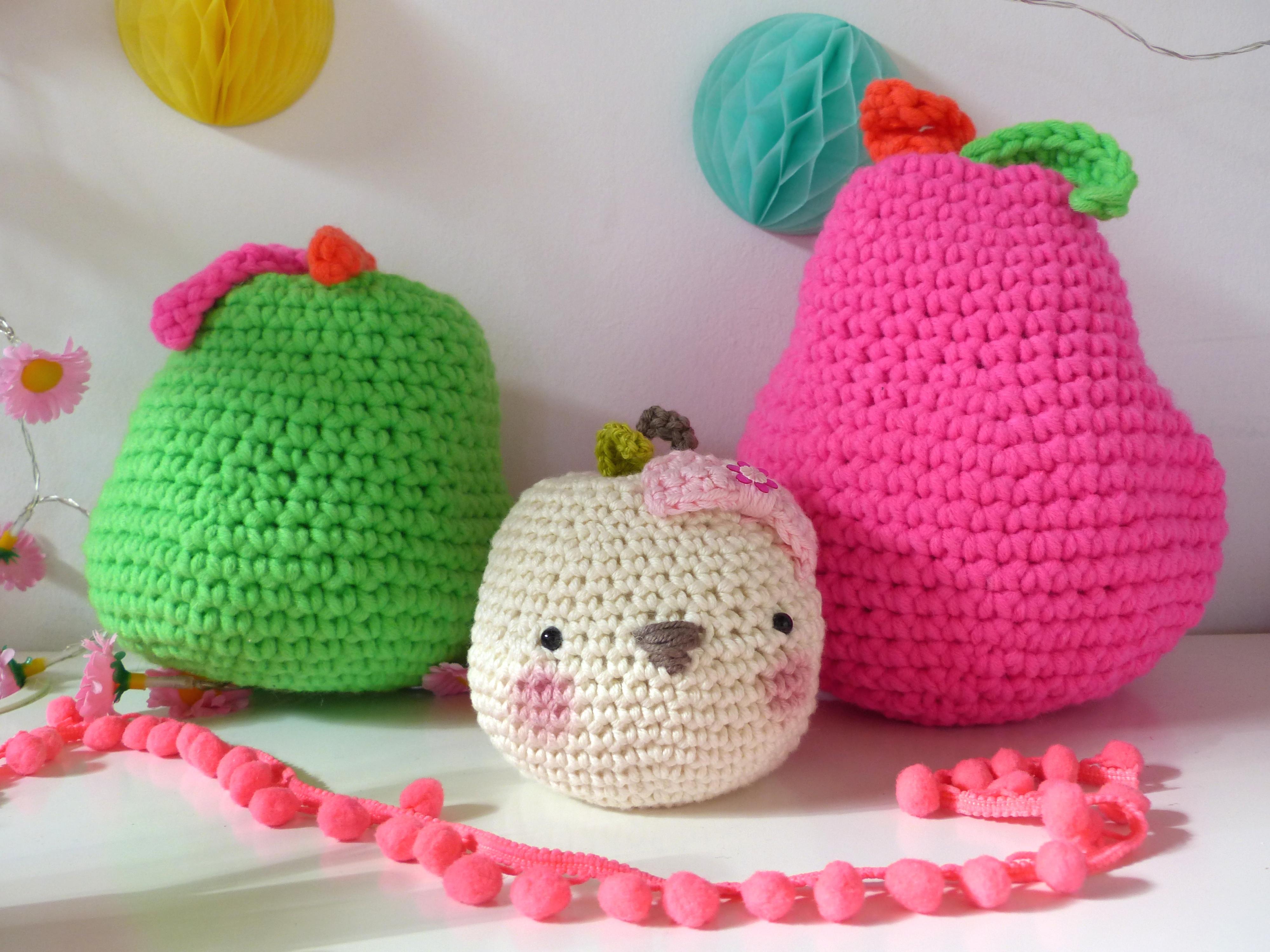 pomme au crochet