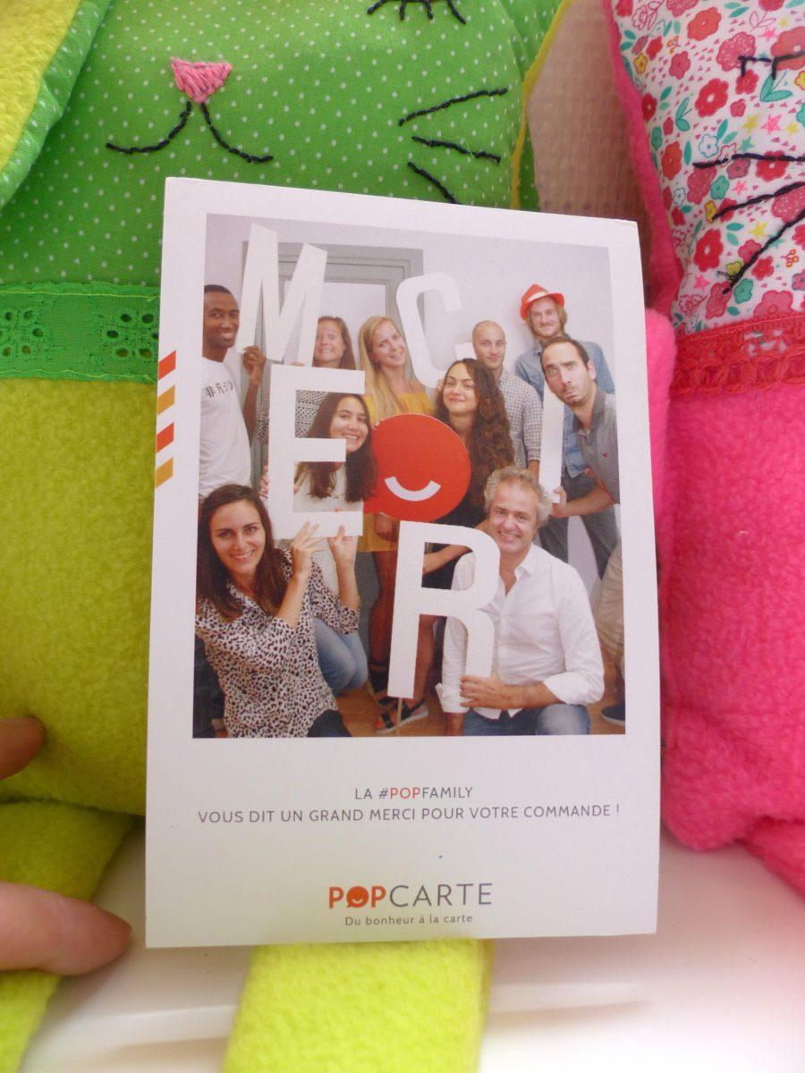 cartes personnalisées, Popcarte