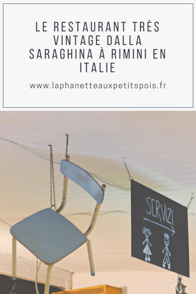 restaurant Saraghina à Rimini
