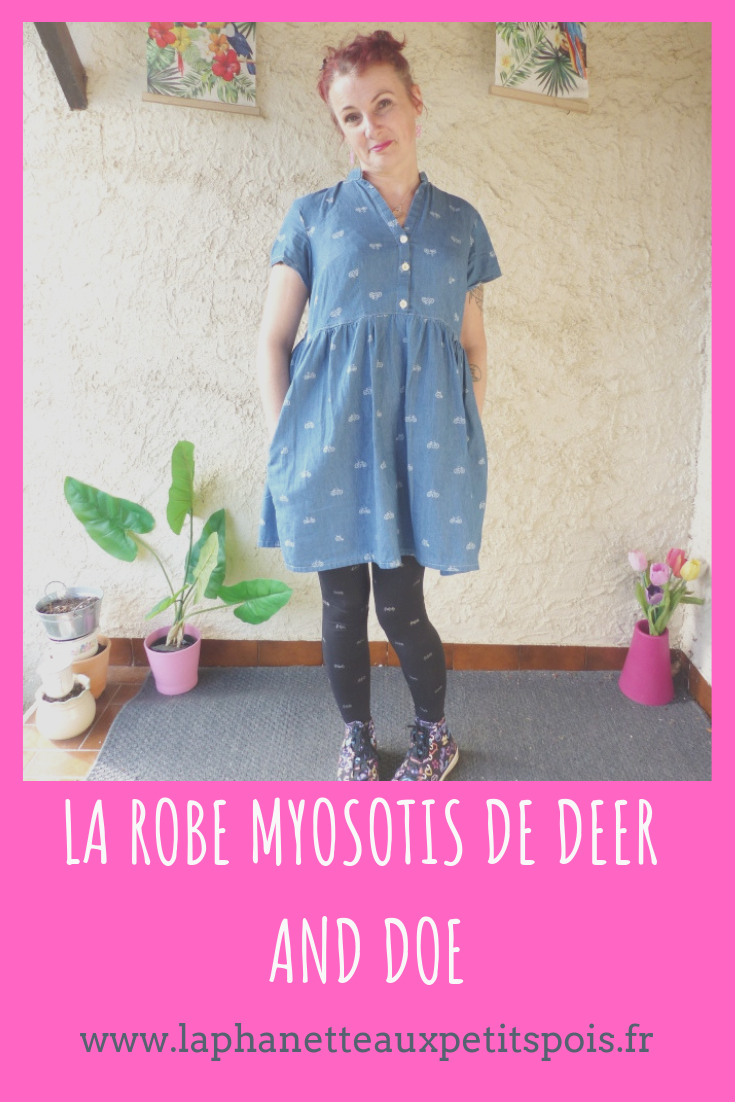 robe Myosotis Deer and Doe