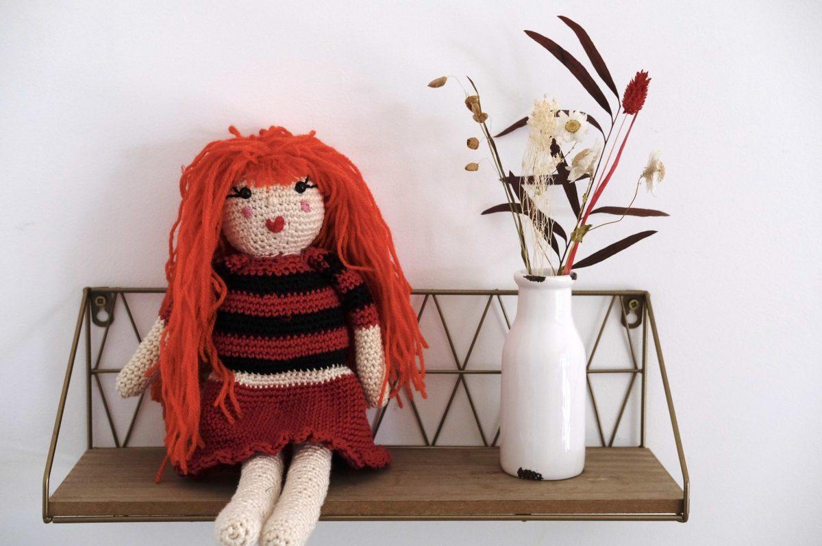 poupée en crochet