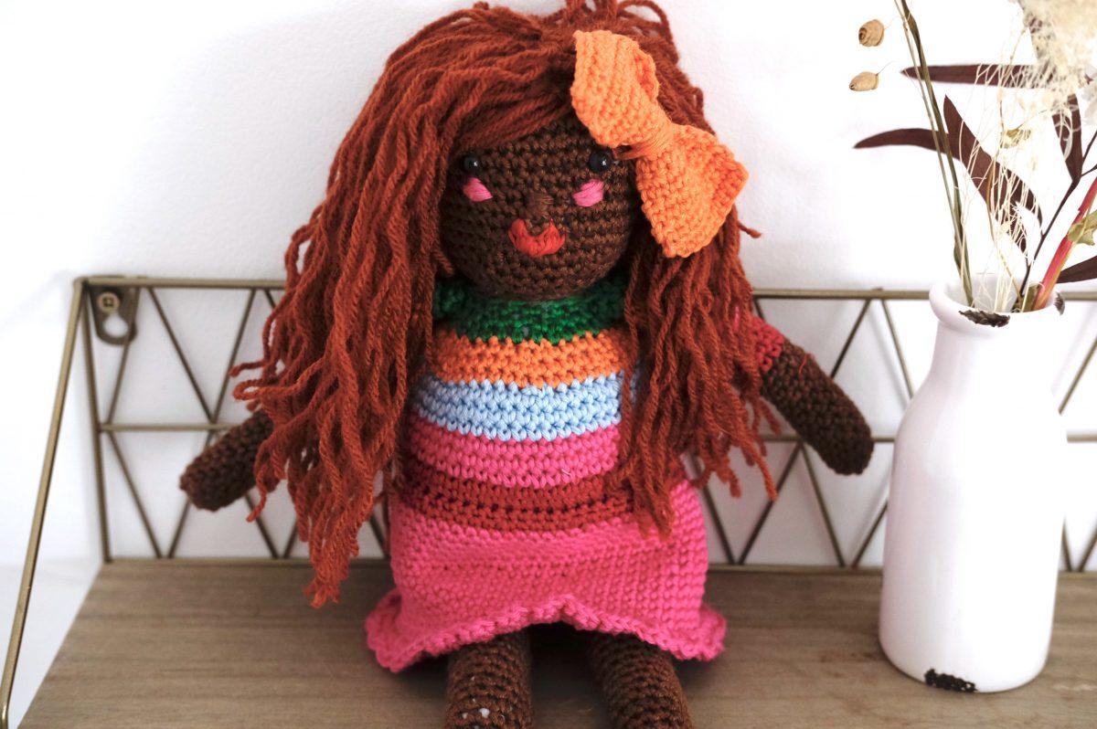 poupée crochet