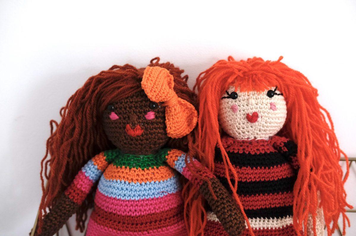 poupées au crochet