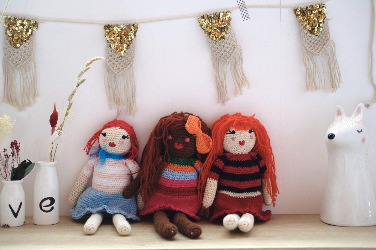 poupées en crochet