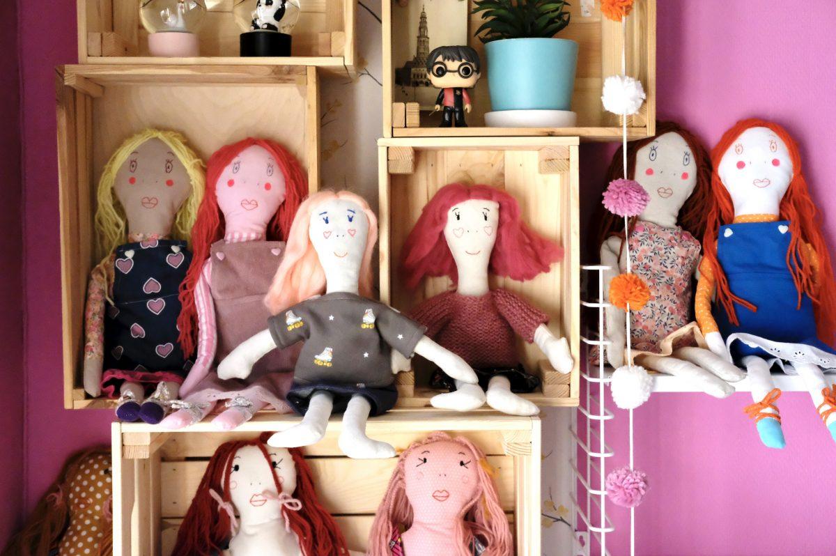 patrons de poupées