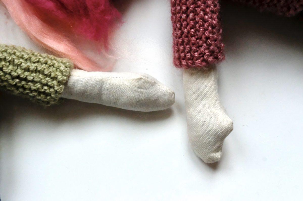 poupée en tissu