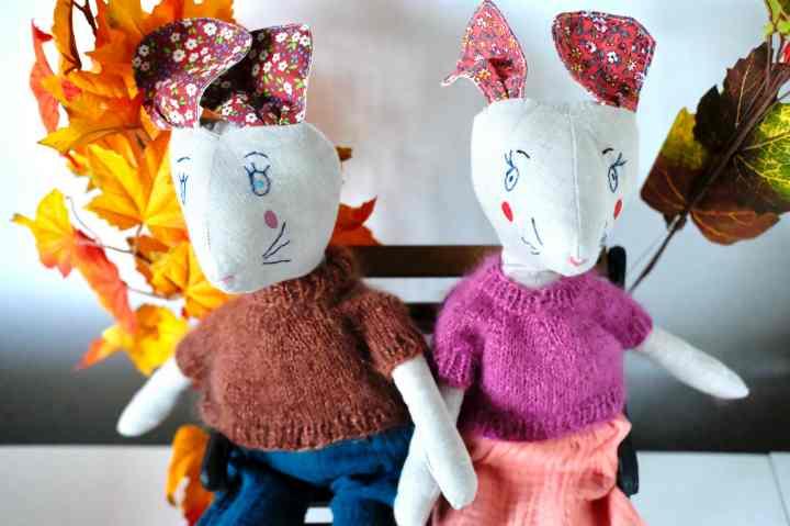 poupées Bernie et Bernadette