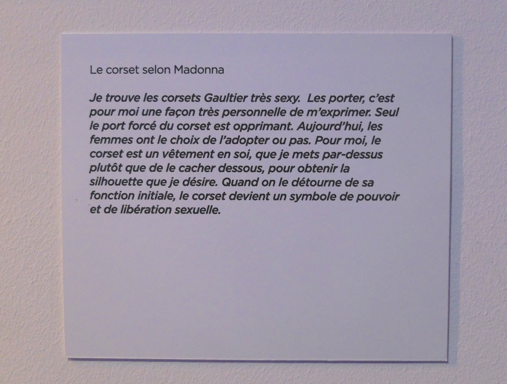 Lexposition Jean Paul Gaultier